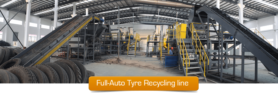Full Auto Tire Recycling Line