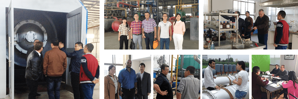 Tyre Pyrolysis Plant Cooperation And Development