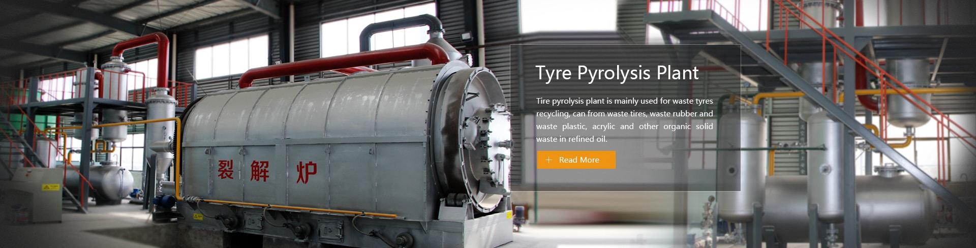 Tyre yrolysis Plant