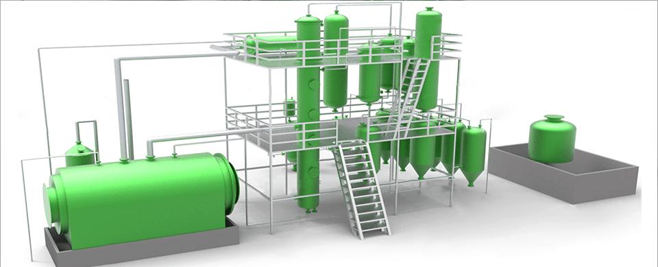 Waste Oil Distillation Plant