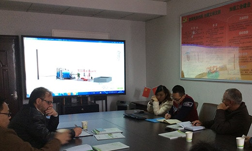 brazil customers inspection tyre pyrolysis equipment