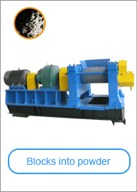 Rubber Powder Mill Machine