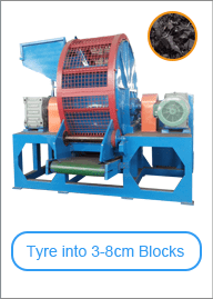 Whole Tyre Shredder