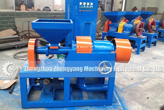 Micro rubber Grinding Unit