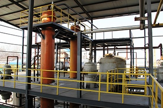 Waste Oil Distillation Column