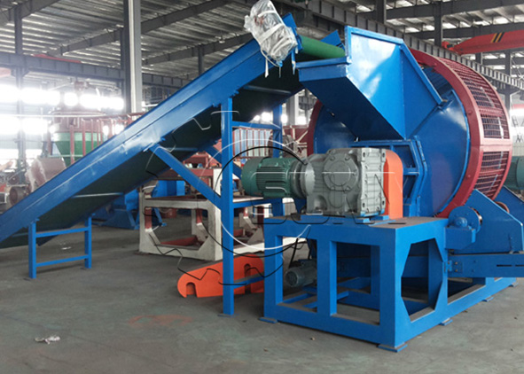 Australian customer visit full-automatic tyre recycling line