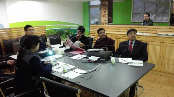 Bangladesh customer visit tyre pyrolysis plan