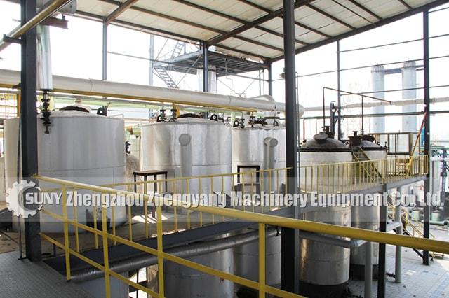 Esterification reactor
