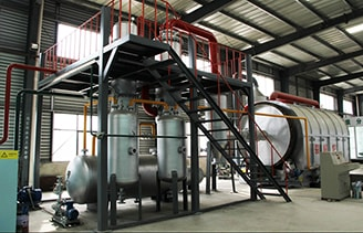 8T/D Waste Tyre Pyrolysis Project