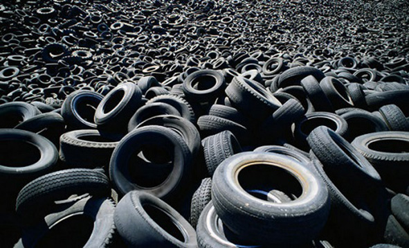 European waste tyre recycling utilization rate has reached 95%
