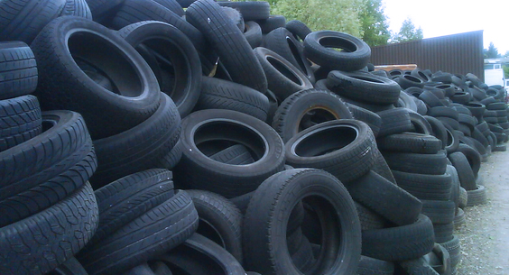 What should we do with scrap car tyres