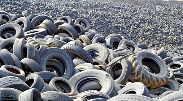 Why do we need to recycle waste tyres?