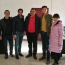 Morocco Customers Inspection Automatic Tyre Recycling Line