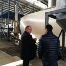 Brazilian Customer Inspect The Pyrolysis Project